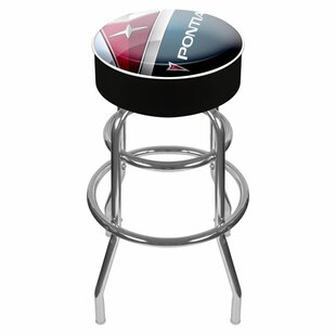 Pontiac 31 Swivel Bar Stool by Trademark Global