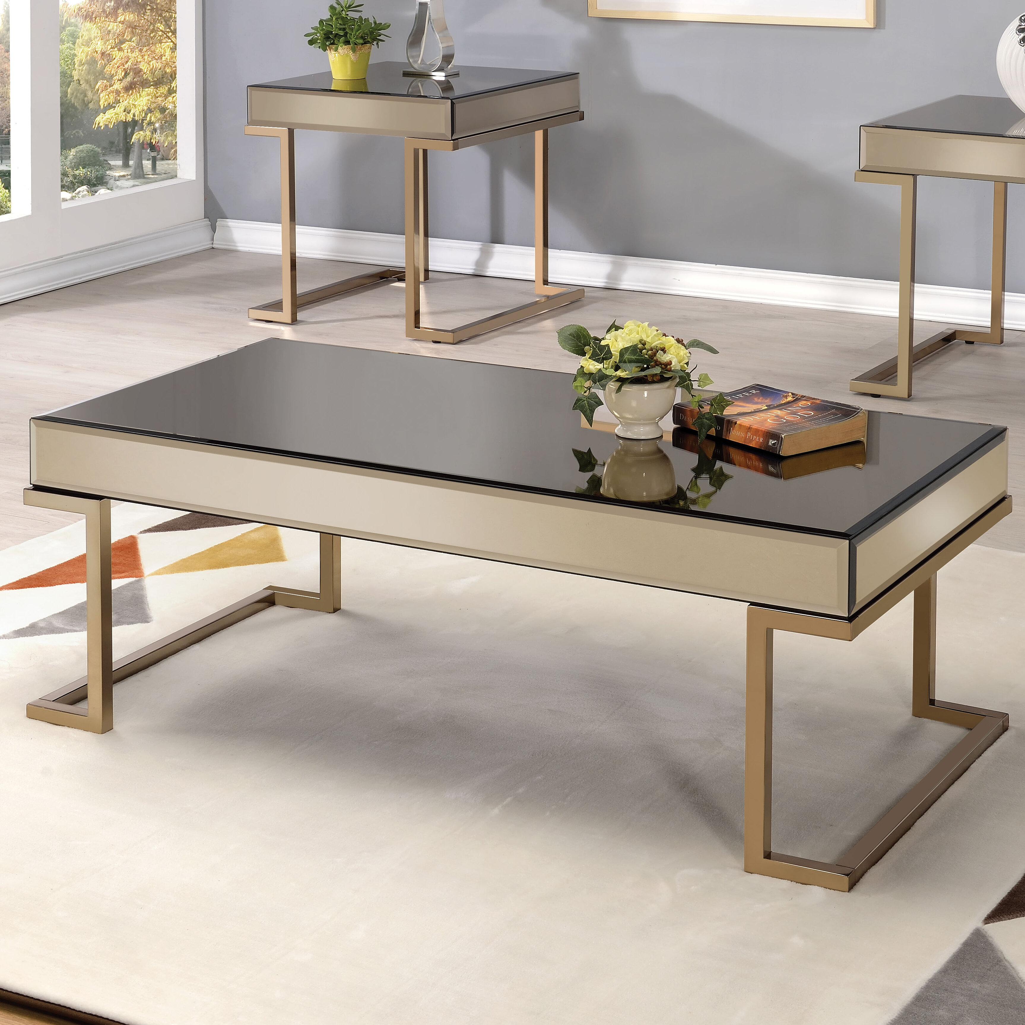 Amazing Everly Quinn Malin 2 Piece Coffee Table Set U0026 Reviews   Wayfair