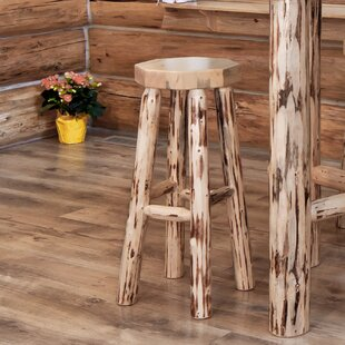 Abordale 30 Round Seat Bar Stool Loon Peak
