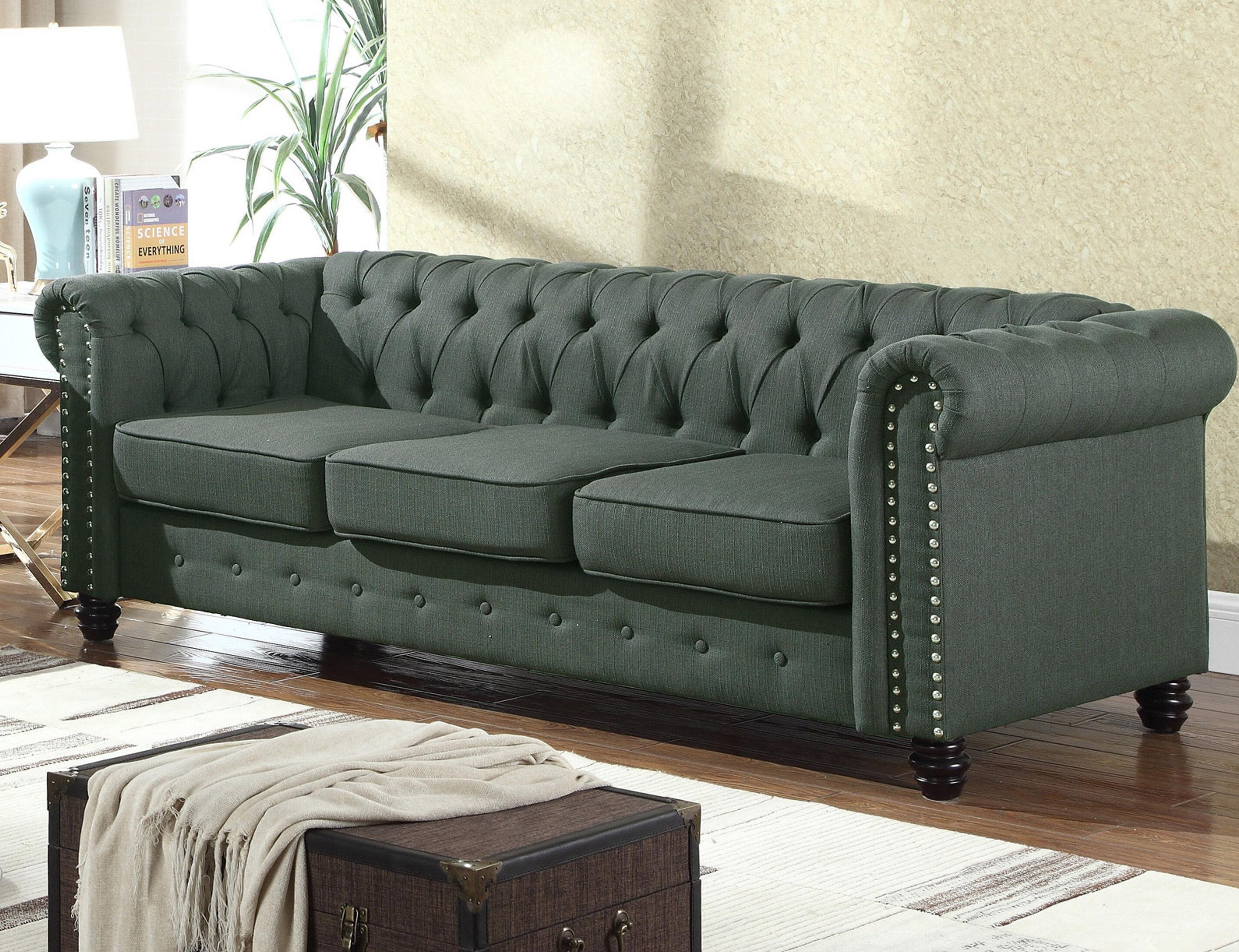 Altman Fabric Modern Living Room Sofa