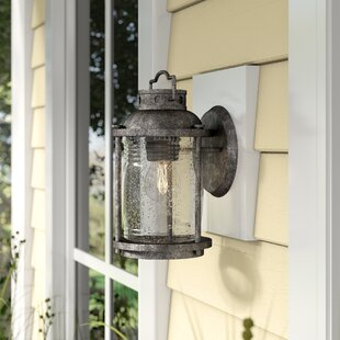 Beachcrest Home Galsworthy 1-Light Outdoor Wall Lantern