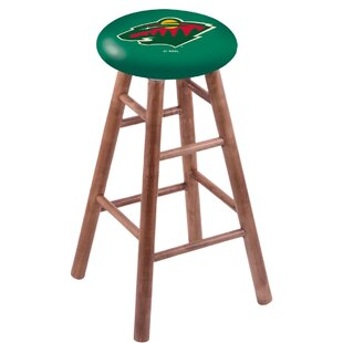 NHL Solid Wood Vanity Stool by Holland Bar Stool