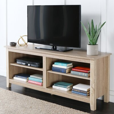 Beachcrest Home Sunbury TV Stand for TVs up to 60 Color: Weathered Natural