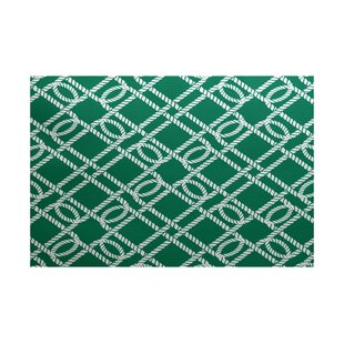 Bridgeport Green Indoor/Outdoor Area Rug