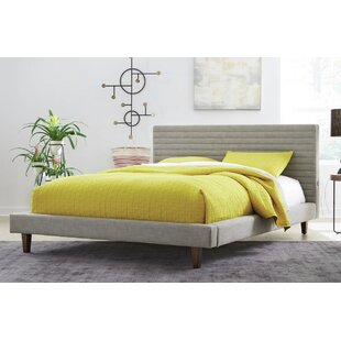 Kempst Upholstered Platform Bed by Corrigan Studio