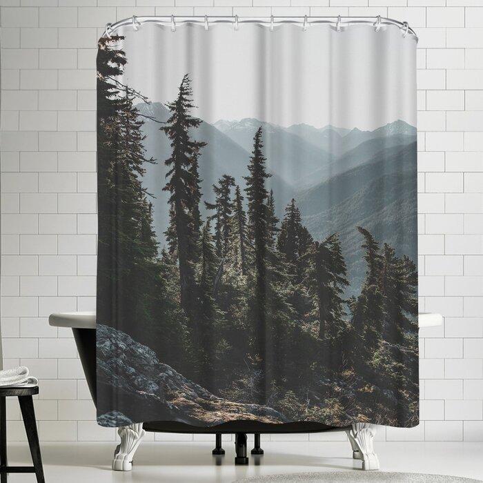 Luke Gram North Cascades National Forest Usa Single Shower Curtain