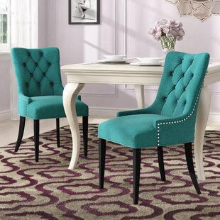 Burnett Dining Side Chair (Set Of 2) by Rosdorf Park Best Choicest