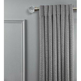 Meidinger Cut Acrylic Window Curtain Single Rod