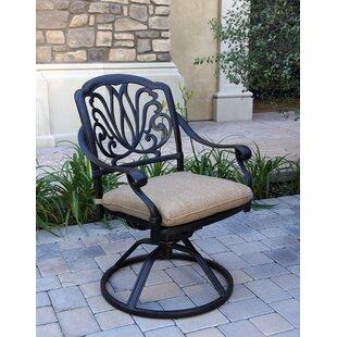 Lebanon Swivel Rocking Chair with Cushions (Set of 4)