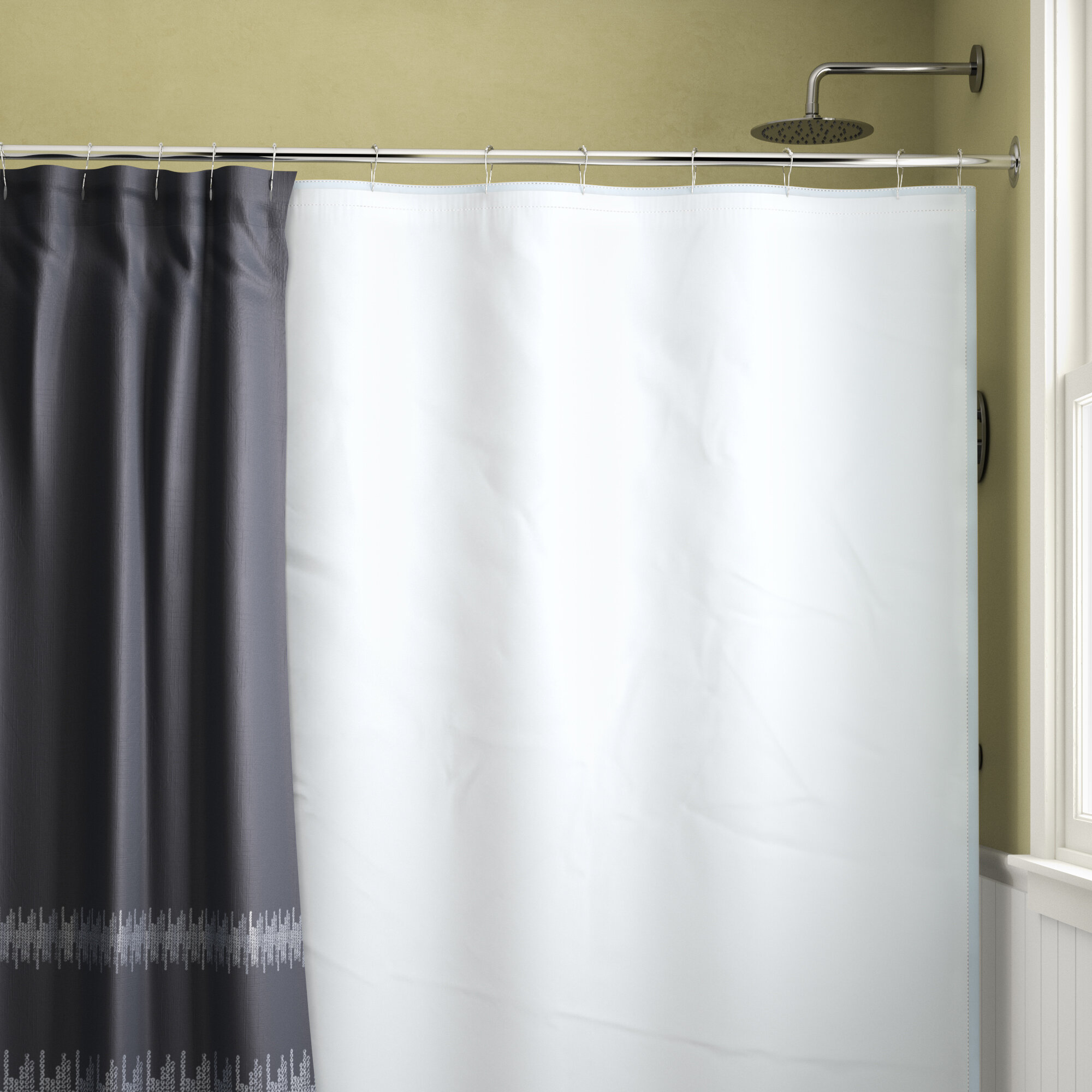 Symple Stuff Waterproof Shower Curtain Liner Reviews