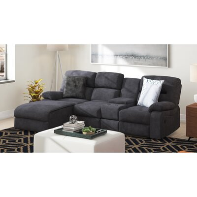 Grey Microfiber Sectionals You Ll Love In 2020 Wayfair