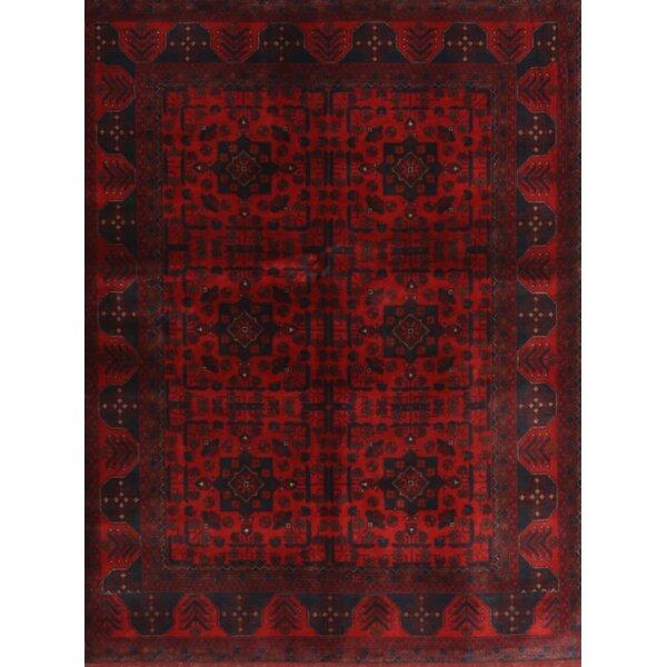 Bloomsbury Market Hermila Traditional Dark Red Black Area Rug Wayfair