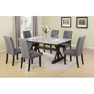 Suzann 7 Piece Dining Set by Darby Home Co Read Reviews