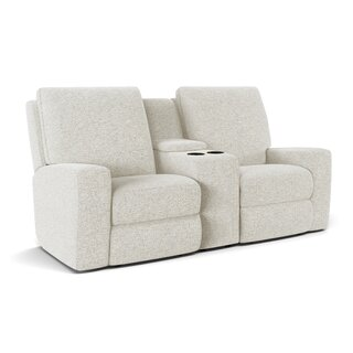 Alliser Console Reclining Loveseat by Wayfair Custom Upholstery๏ฟฝ SKU:BC124010 Check Price