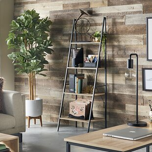 Ladder 180cm Freestanding Bookcase By Closetmaid