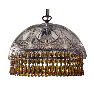 Prague Color 1-Light Crystal Pendant by Classic Lighting