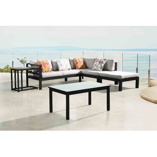 Psyche 5 Piece Sectional Set with Cushions