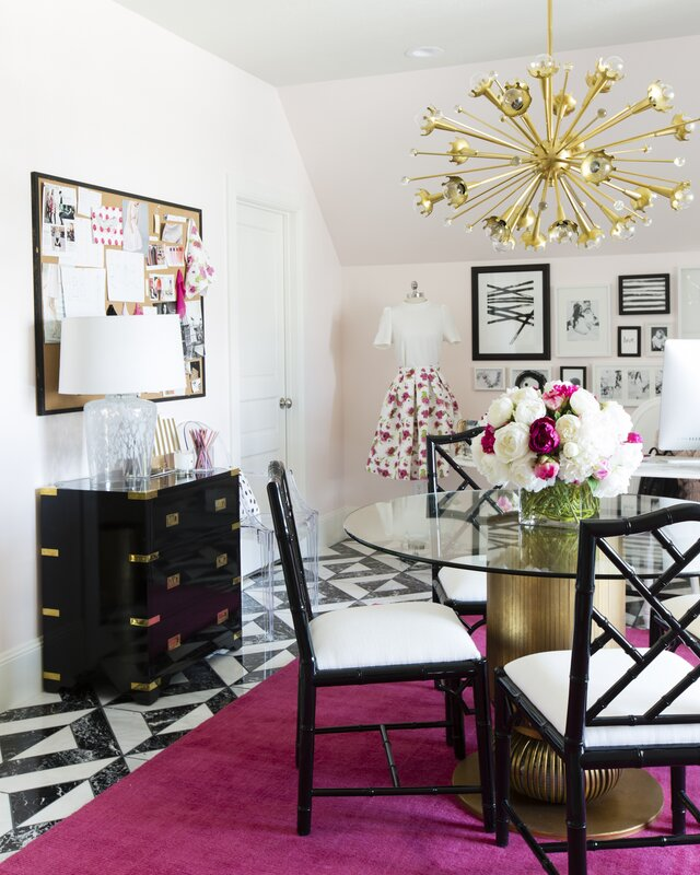 Glam Office Design Photo By Pink Peonies