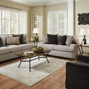 Fullmer 3 Piece Coffee Table Set by Simmons Casegoods Three Posts