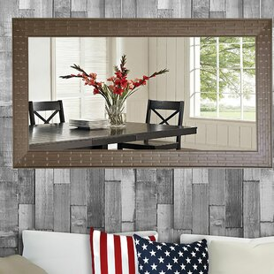Compare prices Kansas Bathroom/Vanity Mirror ByCharlton Home