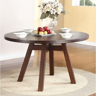 Garnes Solid Wood Dining Table George Oliver