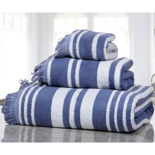 Farnworth 3 Piece Cotton Towel Set