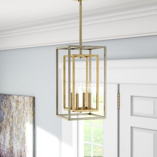 Eglantina 4-Light Square/Rectangle Pendant by Willa Arlo Interiors