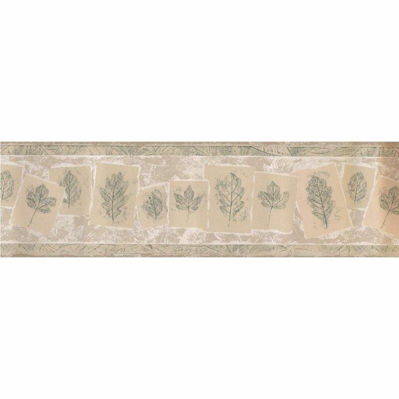 """Fleur De Lis Living Kasota 15' L x 7"""" W Wallpaper Border ..."""