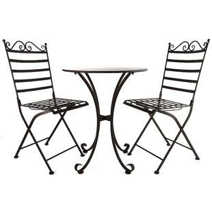 Cedrick Dining Set With 2 Chairs By Rosalind Wheeler