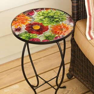 Summer Glass Side Table