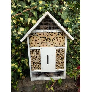 Insect Hotel Large Mounted Butterfly House By Symple Stuff