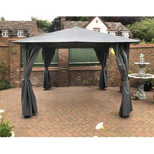 Verendrye 3m X 3m Steel Patio Gazebo By Sol 72 Outdoor