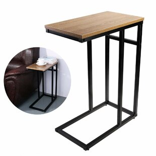 Briella Smooth Top Snack Side End Table by Latitude Run
