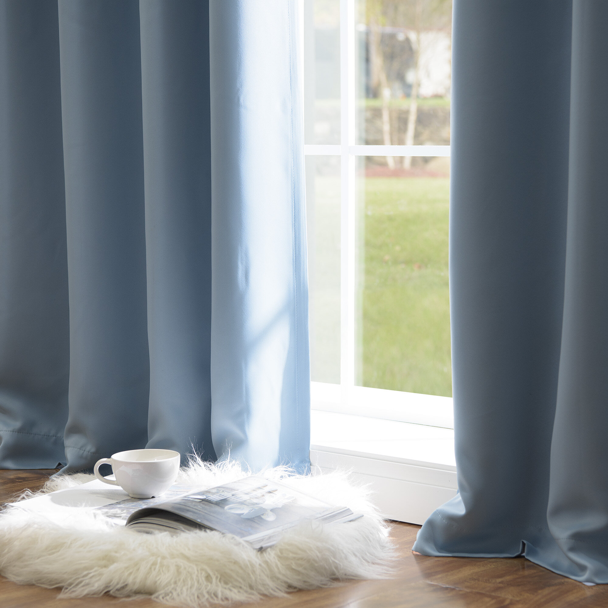 Black & Blue Curtains & Drapes You'll Love in 2021 | Wayfair