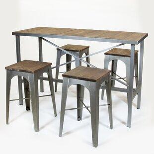 REZ Furniture Industrial Bar Stool
