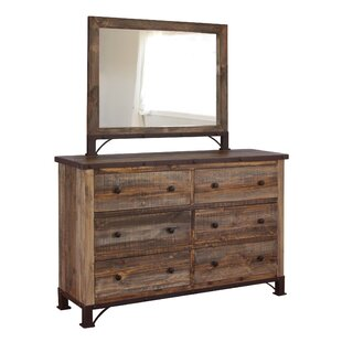 Artisan Home Furniture 6 Drawer Double Dresser