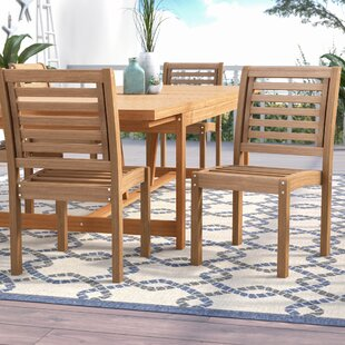 Brighton Stacking Patio Dining Chair (Set of 2)