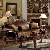Welliver 87 Wide Faux Leather Rolled Arm Sofa by Astoria Grand