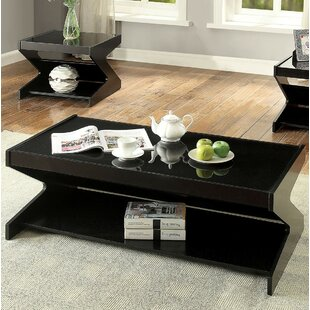 Brayden Studio Feldman 3 Piece Coffee Table Set