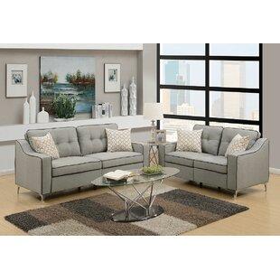 Filip 2 Piece Living Room Set