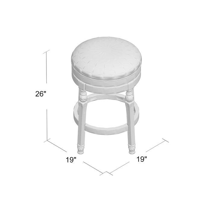 Surprising Caulders 26 Swivel Bar Stool Bralicious Painted Fabric Chair Ideas Braliciousco