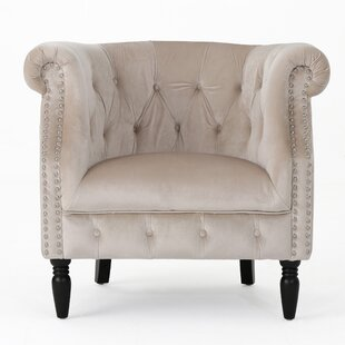 Lenita Chesterfield Chair by House of Hampton