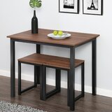 Ferrara 3 Piece Dining Set by Union Rustic
