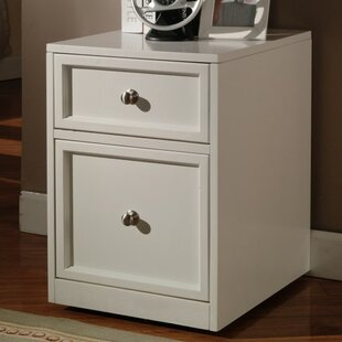 Beachcrest Home Veda 2-Drawer Wood Lateral File