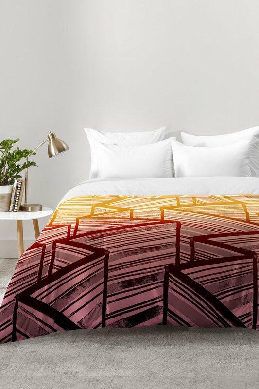 East Urban Home Mystic Stripes Comforter Set