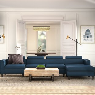 Lundberg Right Hand Facing Modern Extended Deep Seated Chaise Modular Sectional By Ivy Bronx