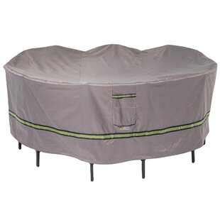 Duck Covers Soteria Water Resistant Patio Dining Set Cover