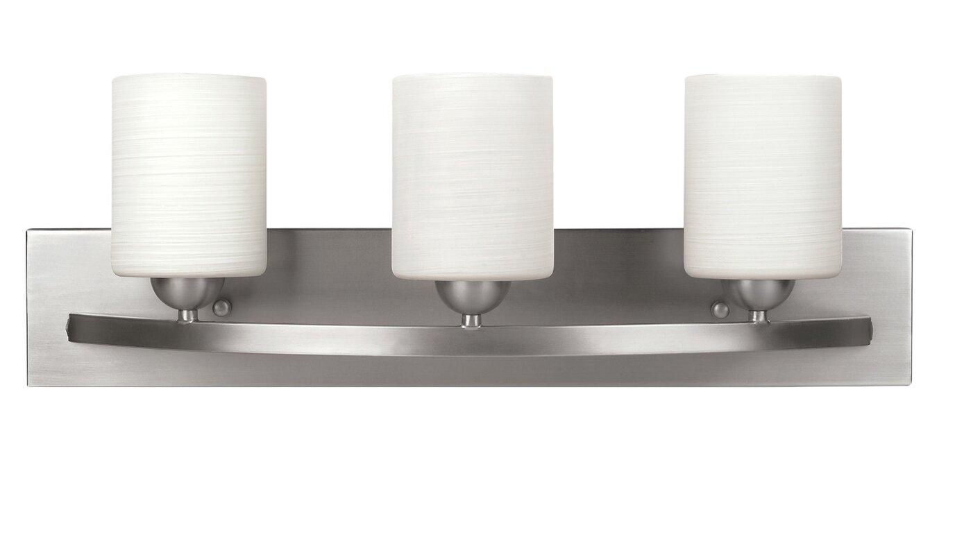Varick Gallery Oaklawn Light Vanity Light Reviews Wayfair - Bathroom vanity lights up or down
