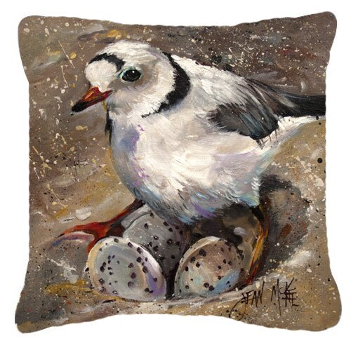 Caroline S Treasures Piping Plover Indoor Outdoor Throw Pillow Wayfair