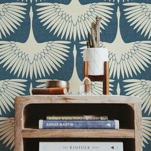 Animal Print Blue Peel Stick Wallpaper You Ll Love In 2020 Wayfair